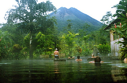 Hot Springs at Arenal Volcano